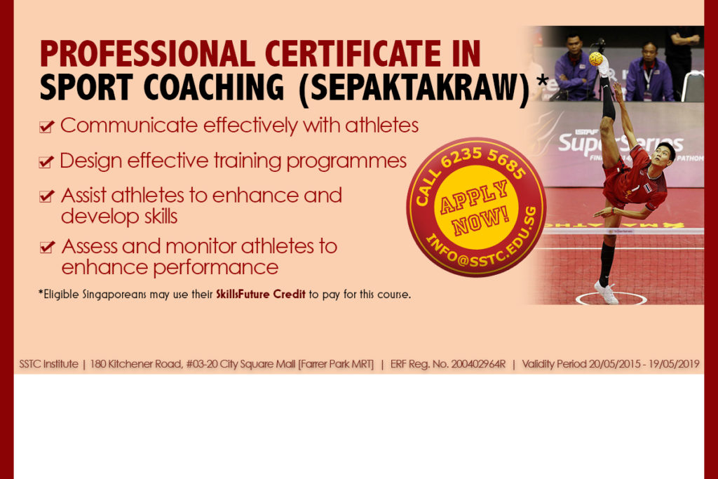 Certify Your Sepaktakraw Coaching Skills - Monthly Intakes