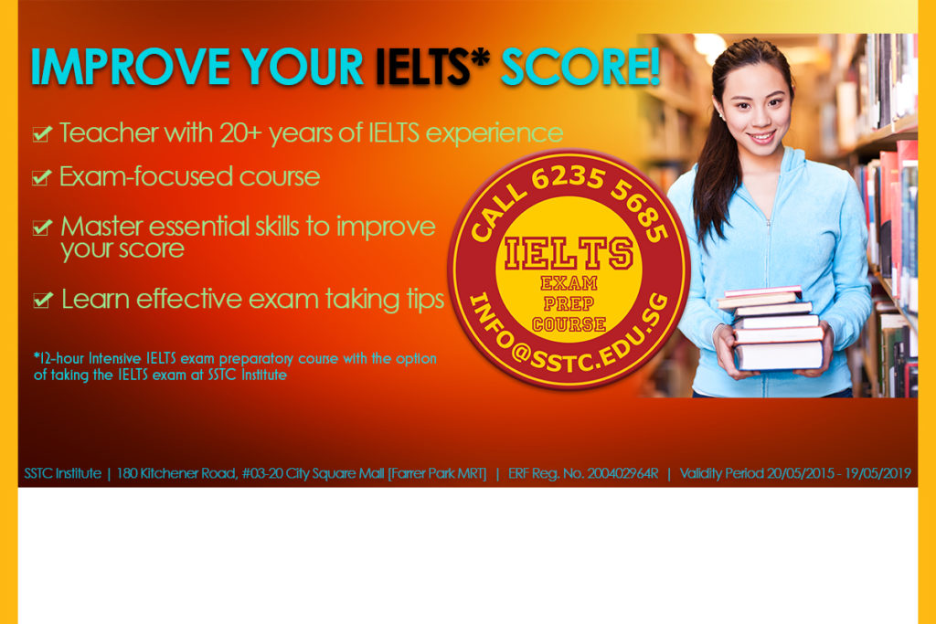 Intensive IELTS Examination Preparation | 16 June 2018 Intake