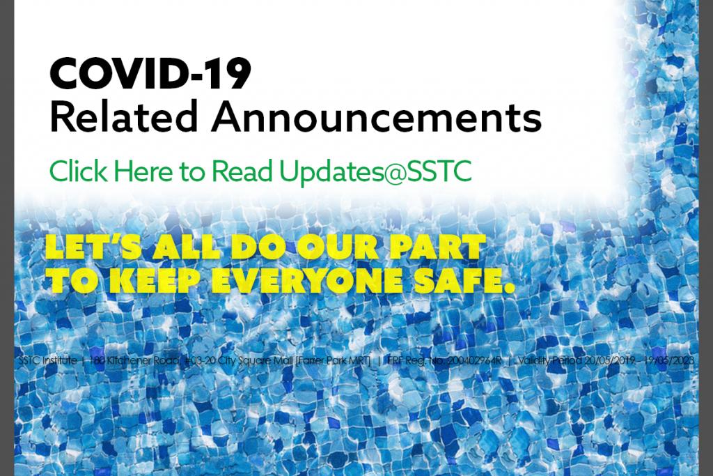 Precautionary Measures@SSTC - Latest Update: 10 June 2021